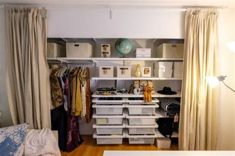 Closet Redesign by Home Office Closet Redesign With The Container Store The