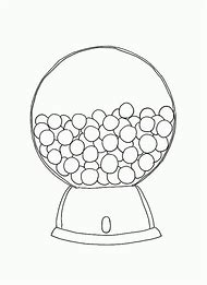Best 25 ideas about gumball machine template find what youll love printable gumball machine coloring page pronofoot35fo Images