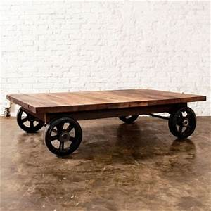 nuevo v33 rectangle reclaimed wood coffee table with With modern coffee table with wheels