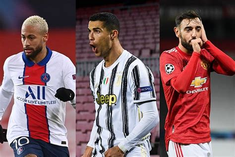 Ronaldo, Neymar, Messi and Haaland: Champions League group ...