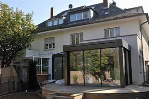 Anbau Haus Glas : anbau glashaus ab exklusives doppelhaus von metallbau ~ Lizthompson.info Haus und Dekorationen