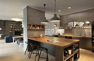 comment separer la cuisine du salon voila nos conseils With separer la cuisine du salon