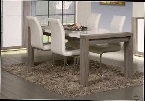 table salle a manger noir et blanc