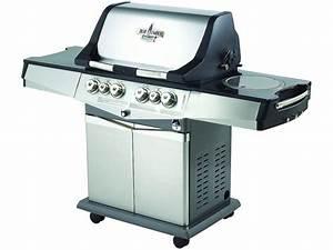 Plancha Gaz En Inox : soldes barbecue gaz en inox multifonction alberto 5 ~ Premium-room.com Idées de Décoration