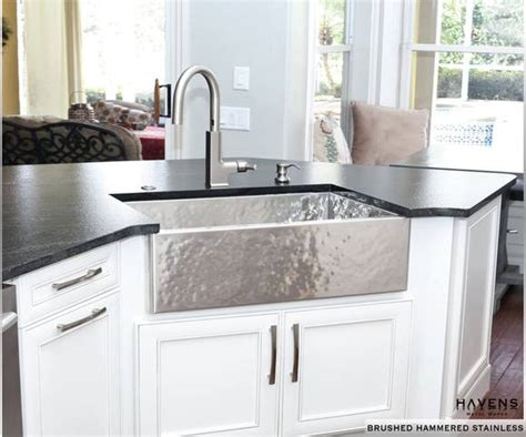 how to install stainless steel kitchen sink custom stainless steel sinks usa made havens metal 9455