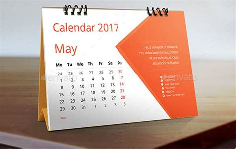 desk calendar designs  psd