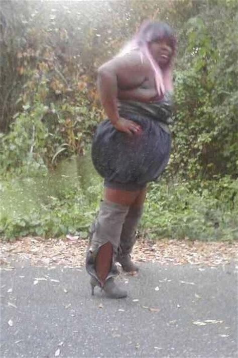 ugliest dress  black garbage bag dress  high heel