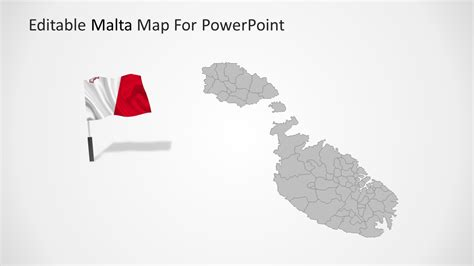 powerpoint map templates malta powerpoint map template slidemodel
