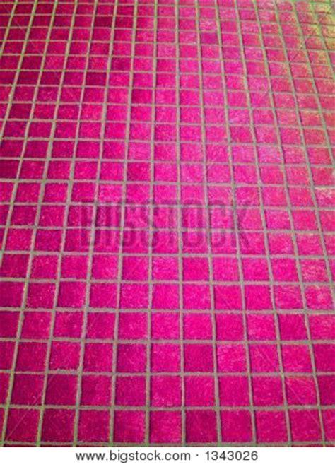 pink mosaic tiles image photo bigstock