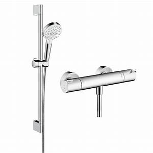 Hansgrohe Crometta 100 Vario : hansgrohe ecostat 1001 cl combi set with crometta vario 100 hand shower bathrooms direct ~ Eleganceandgraceweddings.com Haus und Dekorationen