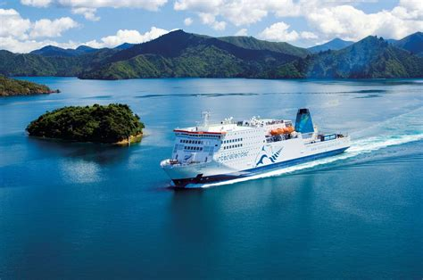 Ferry Boat New Zealand by Crossing The Cook Strait New Zealand By Ferry Travel