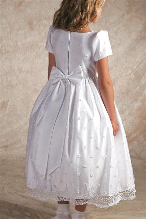 irish  communion dress  shamrocks