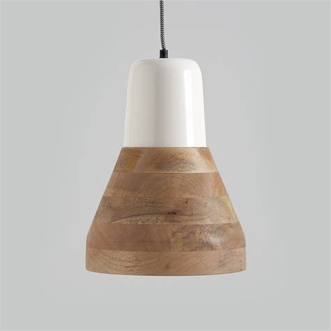 white length wall mirror reykjav k white and wood pendant light