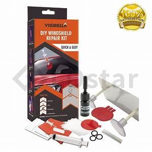 Diy Car Auto Windscreen Windshield Repair Tool Kit Glass