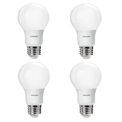 E Light by Philips 60 Watt Equivalent A19 Non Dimmable Energy Saving