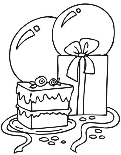 Dibujos de Cumpleaños para colorear pintar e imprimir