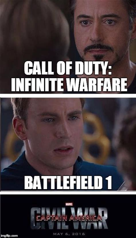 Infinite Warfare Memes - pick a side imgflip