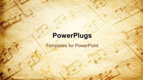 baroque powerpoint template free powerpoint template vintage paper background depicting