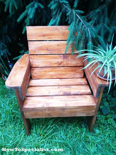 diy garden chair myoutdoorplans  woodworking plans