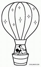 Coloring Balloon Air Printable Pdf sketch template