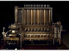 Analytical Engine, [Almost] Computer