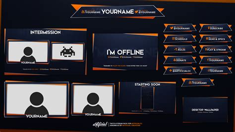 Twitch Pack Speedart