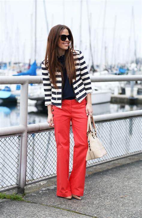 Nautical Theme How To Wear Sailor Pants  Glam Radar