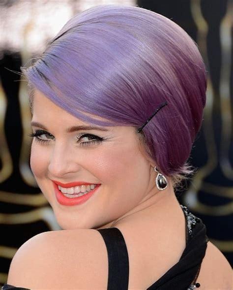 Kelly Osbourne Hairstyles: Sleek Bobby Pinned Updo