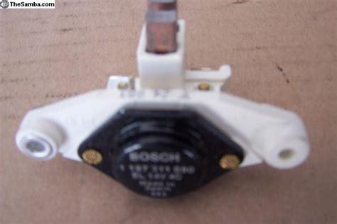 thesamba com vw classifieds new bosch alternator brush holder regulator