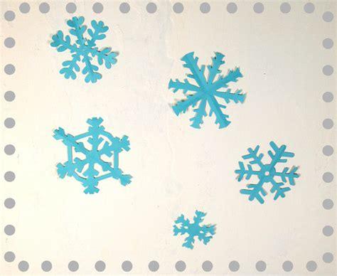 weihnachtsbasteln schneeflocken basteln