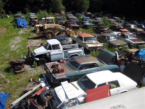 antique car junkyards antiques center
