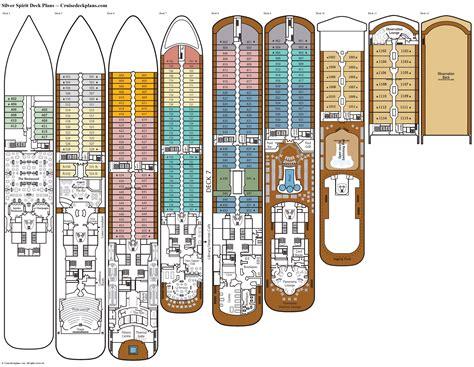 silver spirit deck plans diagrams pictures video