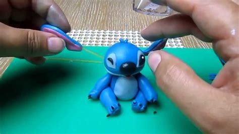 Stitch in fondant tutorial - YouTube