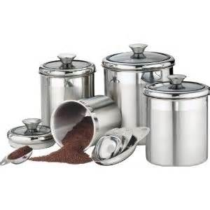 stainless steel kitchen canister sets stainless steel canister set kitchen