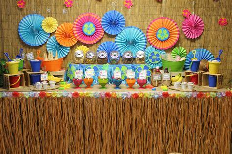 luau party centerpieces ideas  pinterest laua