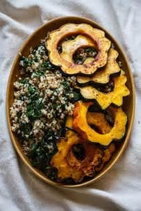 Roasted Acorn Squash with Quinoa