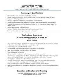 Health Resume Summary by 16 Free Assistant Resume Templates