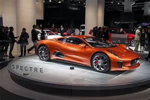 Jaguar-c-x75-spectre-james-bond-007 Les Voitures