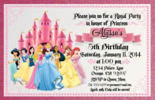 scroll disney princess  printable birthday