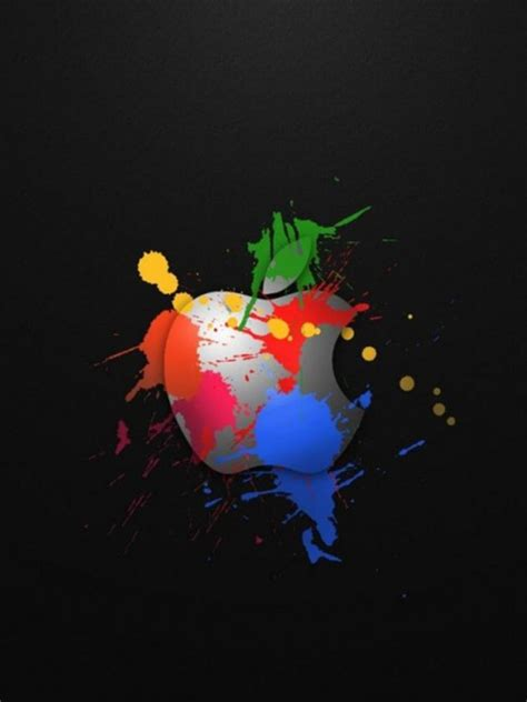 Apple Phone Iphone Cool Wallpapers by Cool Apple Logo Design Iphone Wallpapers 480x640 Cell