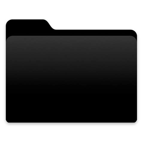 Yosemite Black Folder by kgyt on DeviantArt