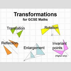 Gcse Maths Transformations  Powerpoint Lesson By Lynneinjapan  Teaching Resources