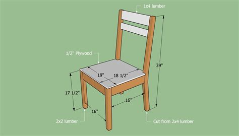 build  simple chair diy wooden chair plans