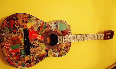 guitar cool pictures rhinestones awesome diy