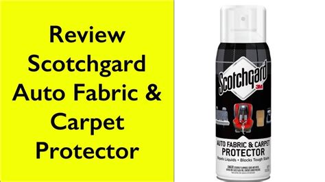 Upholstery Protector Reviews by Review Scotchgard Auto Fabric Carpet Protector 1 Can