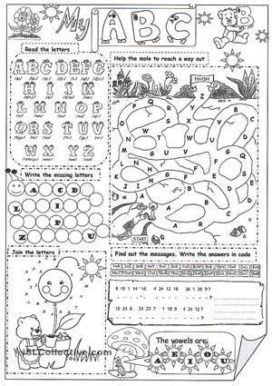 abc  images abc worksheets abc printables