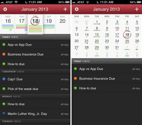 best iphone calendar app best calendar app for iphone imore