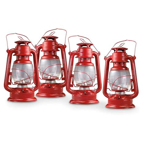 4 kerosene hurricane lanterns 221006 survival gear at