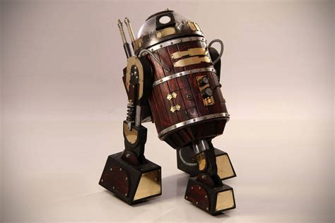 Steampunk R2 D2 by Nocturne Armory   MIKESHOUTS