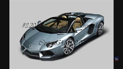 Top 10 Most Expensive Luxury Cars Stosum